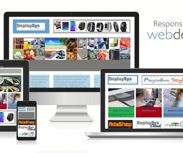 Website Design Mobile Tablet iPad Compatible Shop Profile eStore with Hosting